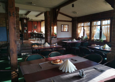 Charlie étterem és panzió - vendégtér
