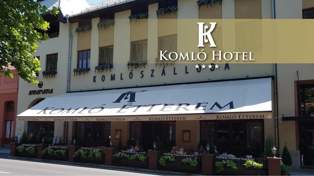 Komlo Hotel**** – Gyula
